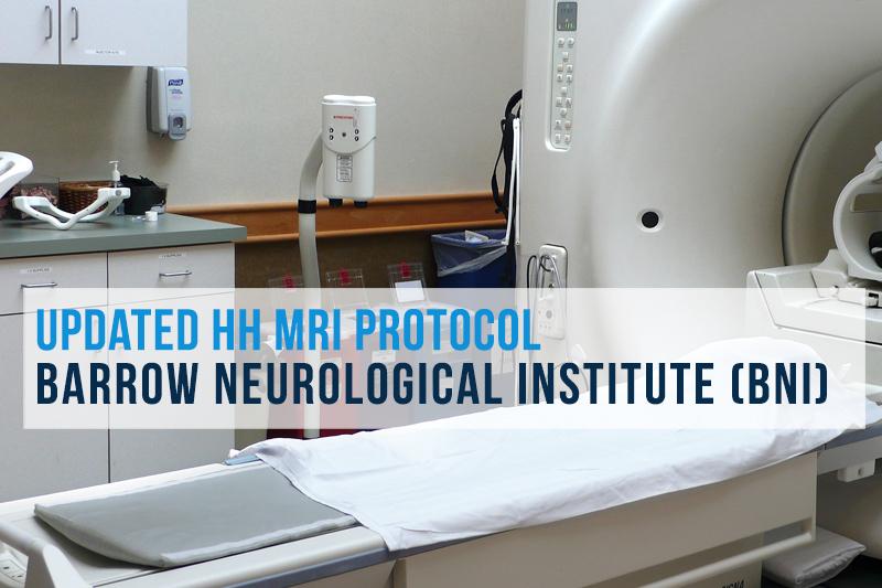 Updated HH MRI Protocol