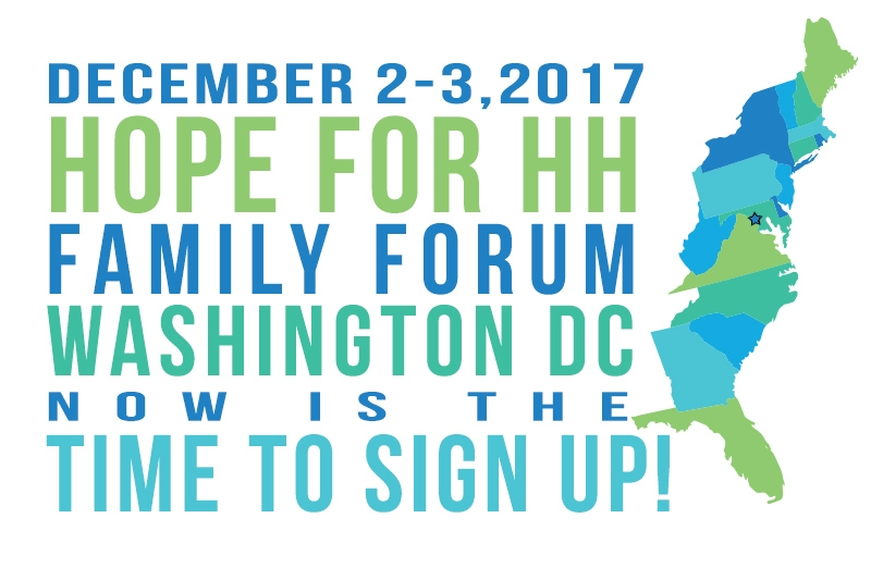 DC Family Forum   Now is the time to sign up!