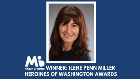 March of Dimes Heroines of Washington Award