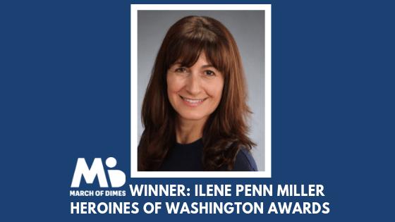 March of Dimes Heroines of Washington Award